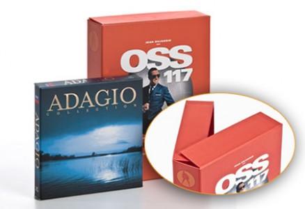 Confezioni per CD: Adagio, Oss