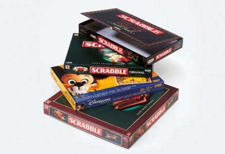 Scatola Scrabble